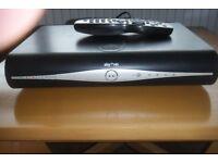 SKY+HD box and remote