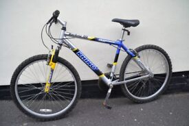 rhino carbine sl mountain bike 18""