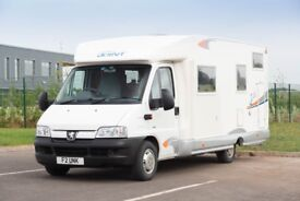 2007 Peugeot Boxer 4 Berth Joint 156 Motorhome VERY LOW MILEAGE