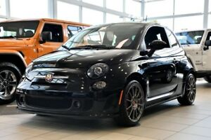 2017 Fiat 500 ABARTH TOIT OUVRANT CUIR ROUCGE MAN RARE