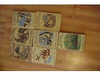 7 X ENID BLYTON FAMOUS FIVE ADVENTURE BOOKS(COLLECTABLE)