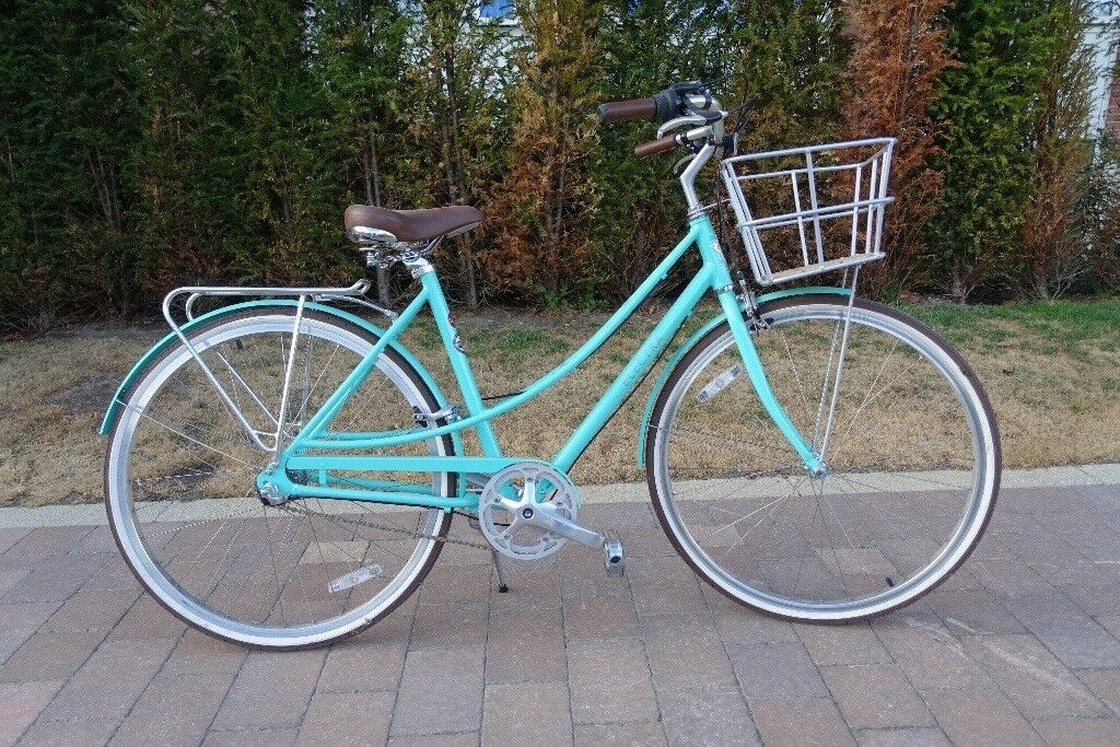 Electra Loft Women's Town Bike (Teal) - Like New, Ridden Twice | in York,  North Yorkshire | Gumtree