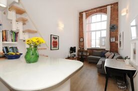 1 bed flat, Factory Conversion, Bow (East London) SHORT LET 3 months from 26th February
