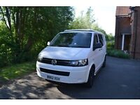 2013 62plate T5 Campervan 1.9 with pop up roof and awning
