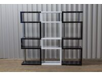 Dwell High Gloss Slim 5-Tier Contour Shelving *NEW* Various Colours Available