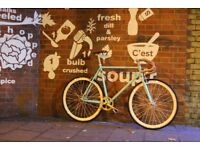 BLACK FRIDAY Sale GOKUCYCLES Steel Frame Single speed road bike track bike fixed gear racing fixie e