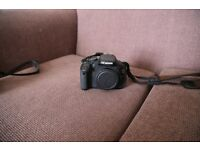 Canon 600D with original box - £300