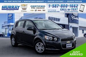 2016 Chevrolet Sonic LT **1.4L Turbocharged!  Remote Start!**