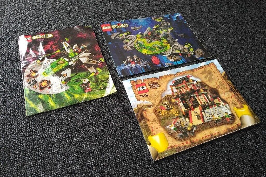 Multi Listing Lego Instructions Orient Adventurers Space Ufo