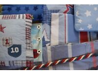 Laura Ashley and M&S boys bedding and accessories