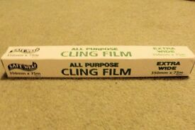 NEW Safe Wrap All Purpose Cling Film, 350mm x 75 metres, Histon