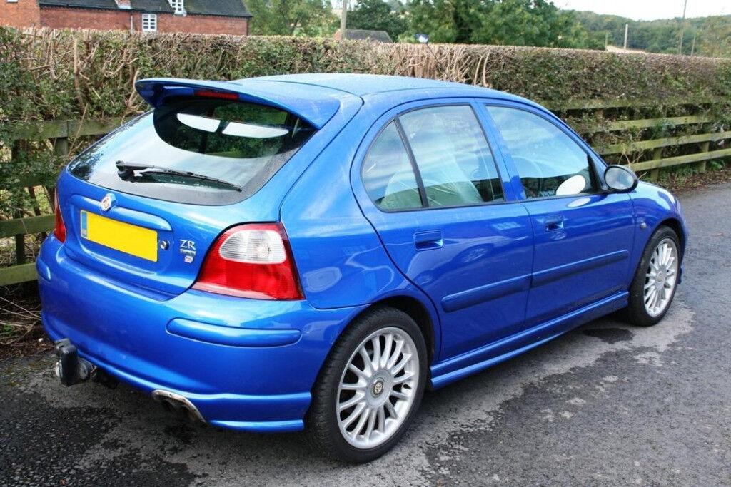 rover mg zr 160 1800 cc hatchback petrol blue in liss. Black Bedroom Furniture Sets. Home Design Ideas