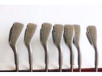 Yasuda SP 1800 Metal cavity back golf Irons 5,6,7,8,9,PW&SW Metal Shaft