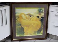 Sleeping Lady Framed Print