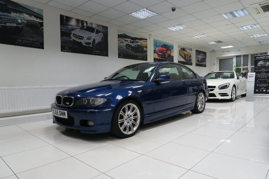 BMW 3 SERIES 20 320Cd Sport 2dr Blue 2005