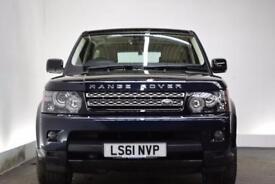 LAND ROVER RANGE ROVER SPORT 3.0 SDV6 HSE 5d AUTO 255 BHP (blue) 2011