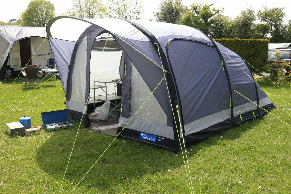 Kampa Brean 4 Air Tent 2016 Inc Kitchen Ect In