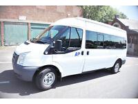 Ford Transit 115 Mini Bus, 15 Seats-White