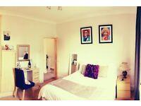 Light double room in friendly Chorlton houseshare