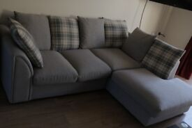 Confortable Grey Sofa in perfect condition (2017)