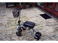 StrideOn Knee Walker, an alternative to crutches for non-weightbearing injuries below the knee