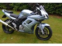 Suzuki SV650 2006, low miles, VGC, good tyres. REDUCED £1850