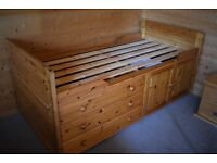 Moriarty Pine Cabin Bed