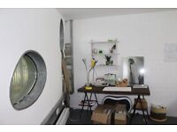 STUDIOS AVAILABLE IN SECURE SERVICED CREATIVE VILLAGE OVERLOOKING LONDON FIELDS. FLEXIBLE TERMS