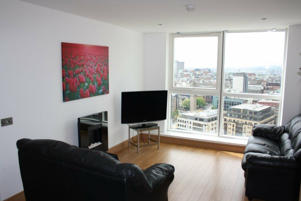 Beautiful 1 bedroom apartment on 18th floor with stunning ...