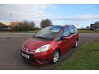 CITROEN C4 GRAND PICASSO 1.6 VTR PLUS HDI,7 Seater,2010,Alloys,Air Con,Cruise Control,F.S.H,53mpg
