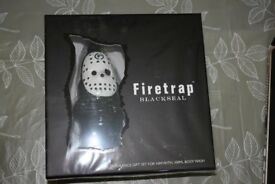 Rare Firetrap Blackseal Gnome Aftershave and Bodywash - Sealed