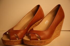 Womens Russell and Bromley Wedges - Size 5