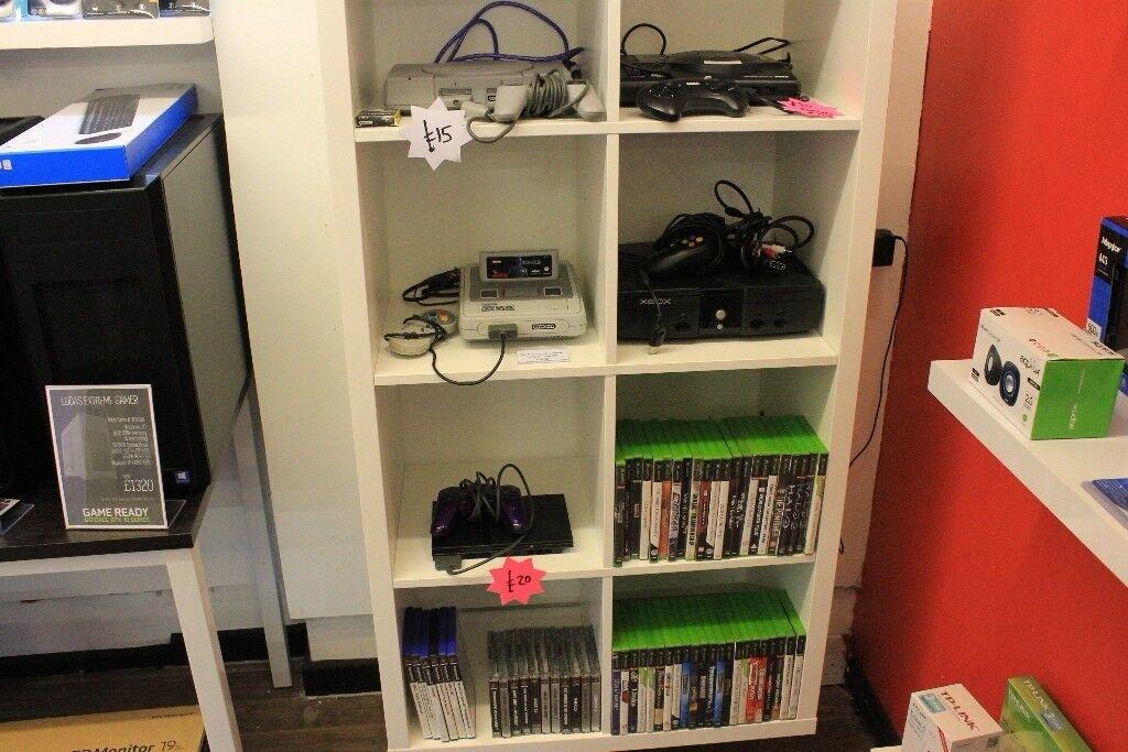 Retro Console Job Lot Megadrive Playstation Xbox