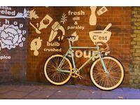 Christmas sale!!! Steel Frame Single speed road bike track bike fixed gear racing fixie bicycle r