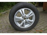 SMAX full size spare wheel and tyre