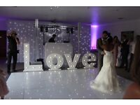 Wedding, event decor, light up love letters, chair covers, backdrop, centrepieces, wedding favours,