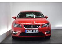 SEAT LEON 2.0 TDI FR TECHNOLOGY 5d 150 BHP (red) 2014