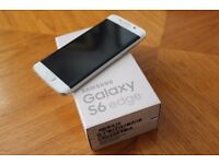 USED SAMSUNG GALAXY S6 EDGE - 64GB IN PEARL WHITE