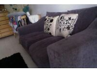 very good condition sofa bed, chest of drawers, wardrobe and bed