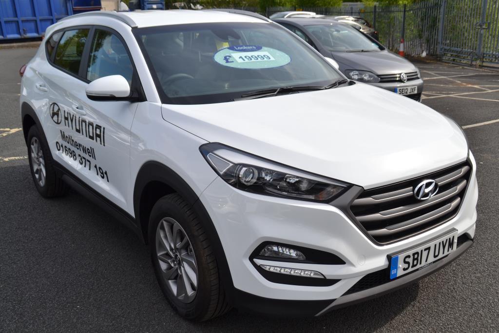 Hyundai Tucson CRDI SE BLUE DRIVE 2017-04-28