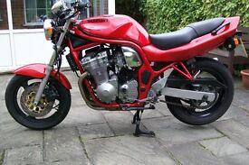Suzuki bandit 600, low mileage at 19,500 miles, ready to ride away