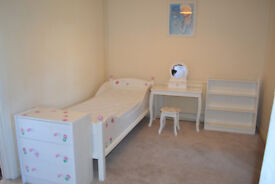 Child's/Children's Single Bed Frame and Mattress