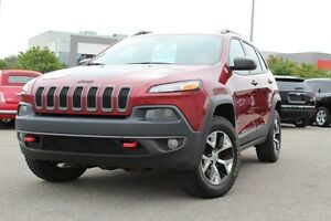 2014 Jeep Cherokee TRAILHAWK 4X4 *SIEGES CHAUFFANT/CAMERA RECUL/
