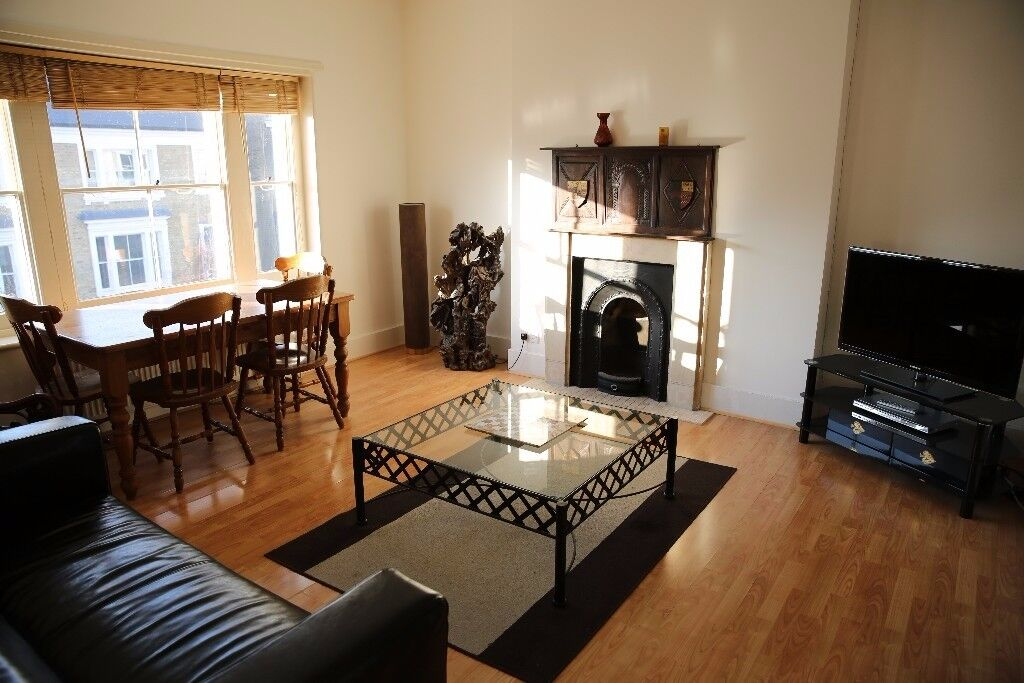 Massive 2 bed with Private Garden in West Kensington W14 - For Swap with 2 bed in Bristol