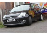 FORD FIESTA ZETEC S 1.6 BLACK 2005