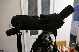 spotting scope RSPB Harrier ED 65 scope, 15-45x eyepiece & tripod