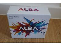 Alba Digital Clock Radio**NEVER USED**