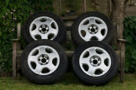 15 Inch Alloys with tyres 195/65R15