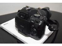 Nikon D5000 with Nikon VR Lens