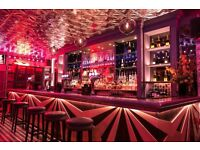 Bartenders Required for busy Striptease venues in Shoreditch